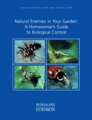 A Homeowner's Guide to Biological Control - Gardening in Michigan