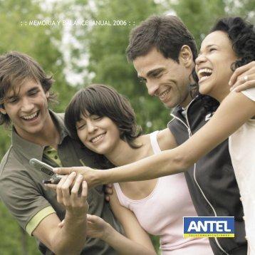 Memoria Anual 2006 (.pdf 2.9Mb) - Antel