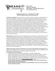 PO Box 3019 - Northeast Aquatic Nuisance  Species Panel
