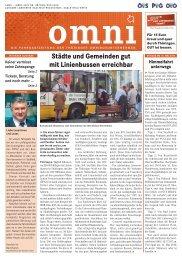 Städte und Gemeinden gut mit Linienbussen ... - Bus Thüringen