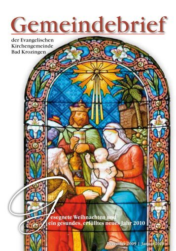 Januar 2010 - Evangelische Kirchengemeinde Bad Krozingen