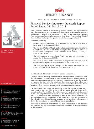 Quarterly Report March 2011.pdf - Jersey Finance
