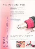 Brochure Unitherm / Jumbotherm - Zinser Schweisstechnik GmbH - Page 2
