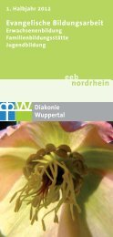 eeb nordrhein - Diakonie Wuppertal