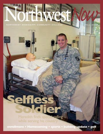 NW Now cover - Northwest Mississippi Community College