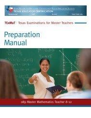 Master Mathematics Teacher 8-12 - ETS