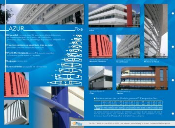 Documentation AZUR FIXE - Tellier