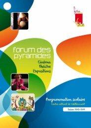 Programme Scolaire enseignement secondaire - Centre Culturel de ...