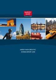 HARVEY NASH GROUP PLC INTERIM REPORT 2008
