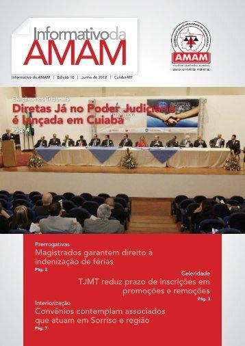 Diretas Já no Poder Judiciário é lançada em Cuiabá - Amam
