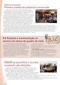 Diretas Já no Poder Judiciário é lançada em Cuiabá - Amam - Page 6