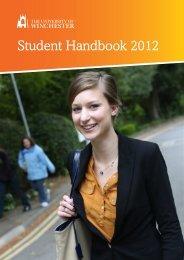 Student Handbook 2012 - University of Winchester