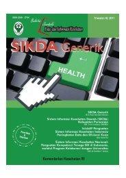 Buletin Sikda Generik - Departemen Kesehatan Republik Indonesia