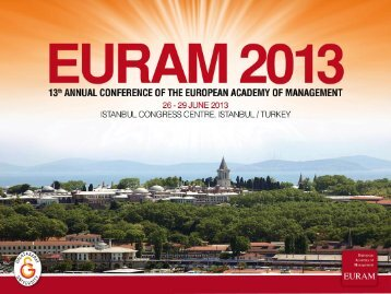 here - EURAM Annual Conference 2013