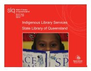 Indigenous Library Services State Library of Queensland
