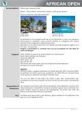African Open Championships St Louis, Mauritius - Union Africaine ... - Page 7