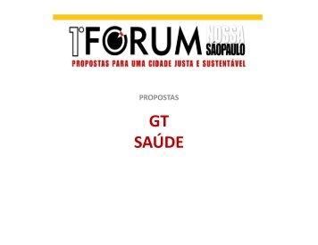 (Microsoft PowerPoint - GT Sa\372de Propostas Forum [Modo de ...
