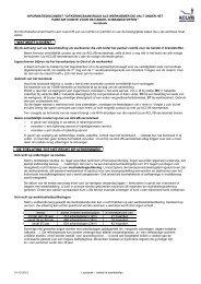 Uitkeringsaanvraag als werknemer die valt onder het paritair ... - Aclvb