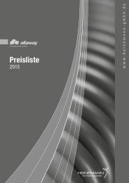 Preisliste - Heinemann GmbH
