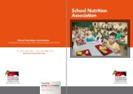 School Nutrition Association - Business Review USA