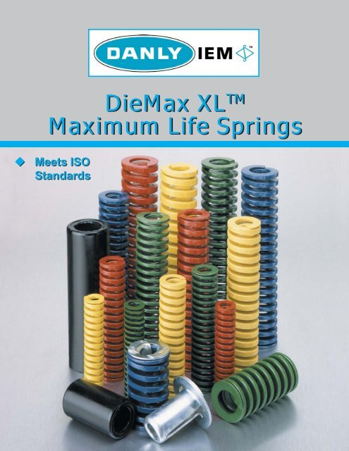 9-2006-26 1.25  X 1.5 RED HEAVY DUTY DANLY DIE SPRING