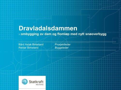 Dravladalsdammen - Energi Norge