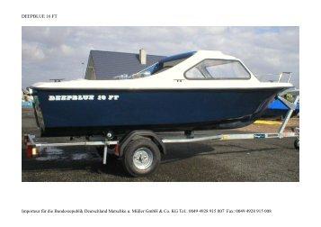 Deepblue 16 FT - Matschke u. Müller GmbH & Co. KG >>> Boote ...