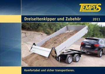 Dreiseitenkipper und Zubehör 2011 - Tempus - Technology & Service