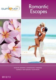 Romantic Escapes - Sunlover Holidays
