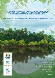 Les sites naturels sacrés de l'écorégion côtière et marine ouest ...