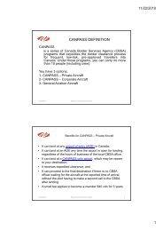 Presentation by BC Campbell - NBAA