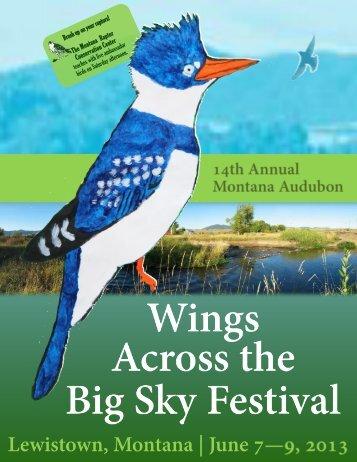 Find a downloadable registration brochure here. - Montana Audubon