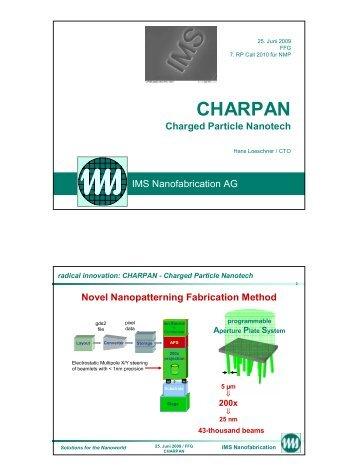 CHARPAN - FFG 7. Rahmenprogramm