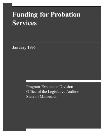 Full Report (PDF) - Office of the Legislative Auditor
