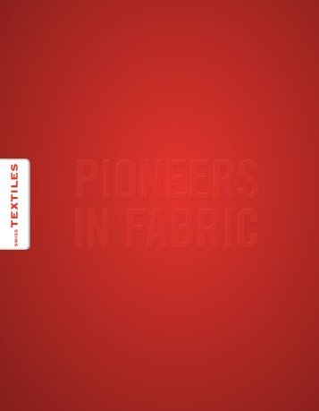 Imagebroschüre Textilverband Schweiz