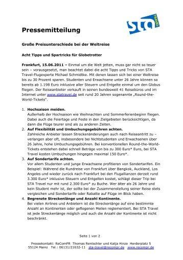 2011-06-15-TippsTricks Round-The-World-Reisen - STA Travel