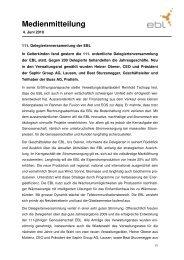 10_06_04 Medienmitteilung DV 10_06_04 - Steiner, Urs