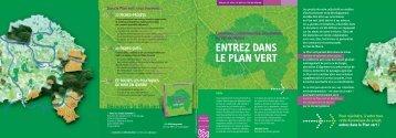 Plaquette Plan vert - Conseil général du Val-de-Marne