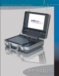 AudioScan RM 500 SL
