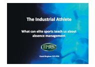 The Industrial Athlete - XL Group