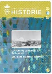 FFIs-historie-nr8.indd - Forsvarets forskningsinstitutt