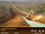 Enbridge - National Gas Society of East Texas