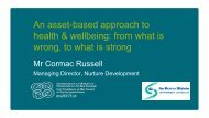 An asset-based approach to health & wellbeing: from what is wrong ...