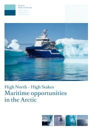 Maritime opportunities in the Arctic