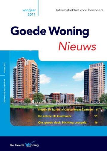 Nieuws Goede Woning - De Goede Woning
