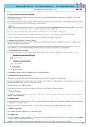 Tarifas Prestación Servicio Post-venta - COMEVAL