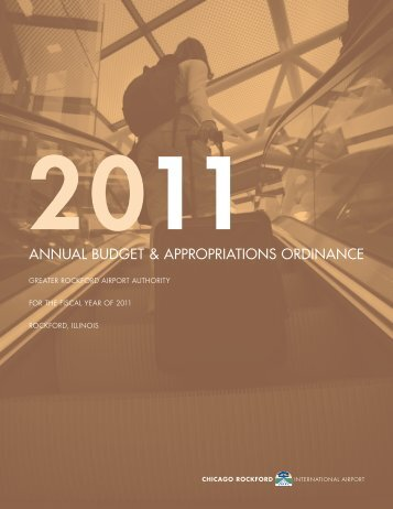 ANNUAL BUDGET & APPROPRIATIONS ORDINANCE - FlyRFD.com