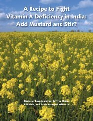 A Recipe to Fight Vitamin A Deficiency in India - Center for Disease ...