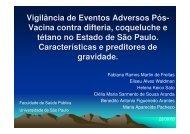 Vigilância de Eventos Adversos Pós- Vacina contra ... - Epi2008