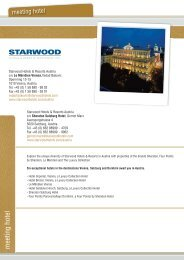 hotel_starwood 07:Layout 1.qxd - nextstep congress solutions